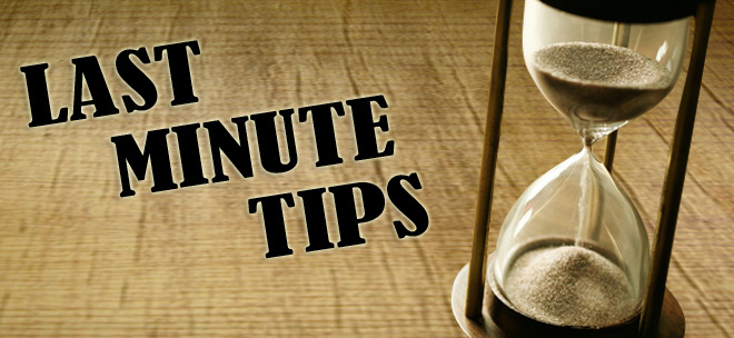 Oral Examination – Last Minute Tips