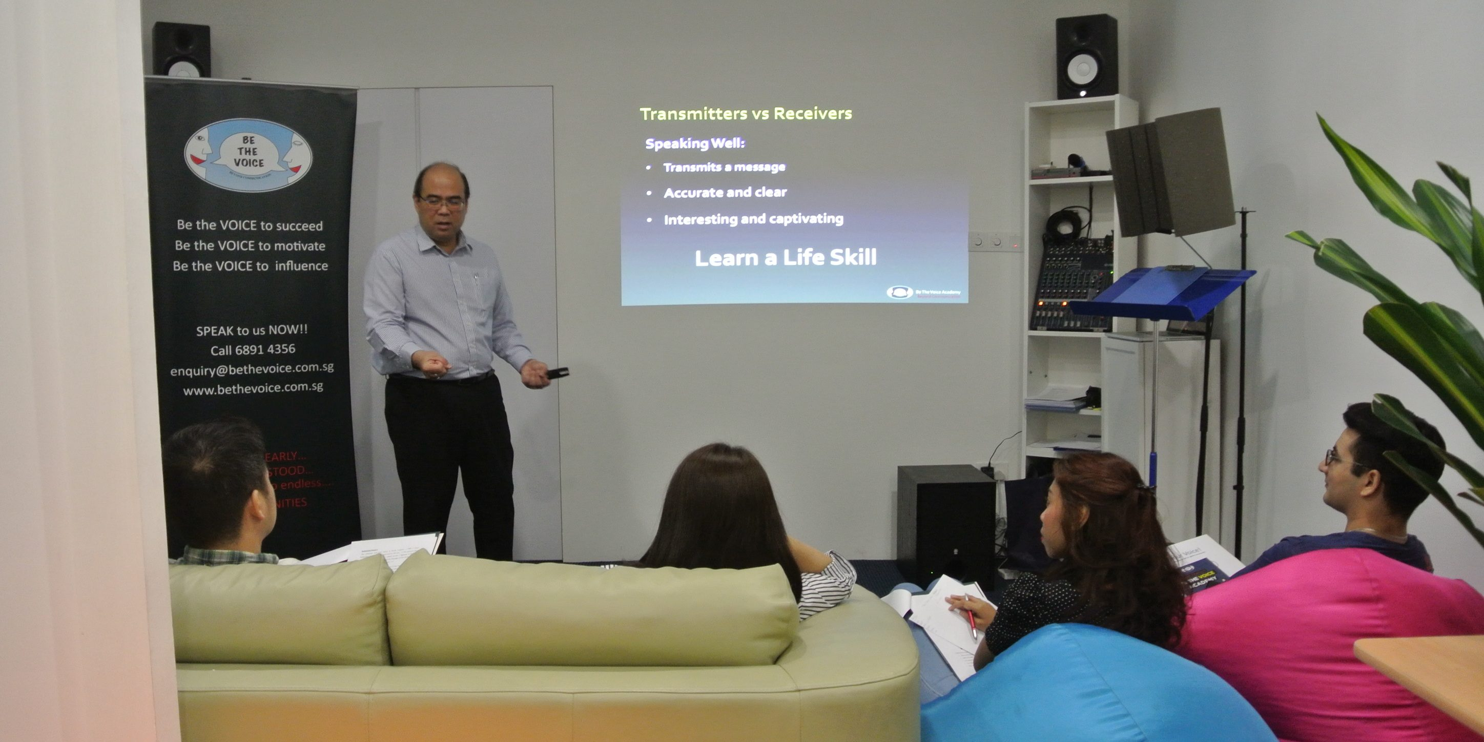 effective presentation skills training in singapore be the voice